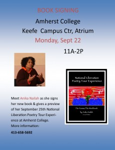Book Signing In Amherst @ Amherst College | Amherst | Massachusetts | United States